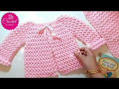 Crochet Baby Cardigan Sweater Yarns 21 Ideas You are in the right place about stricke Crochet Baby Cardigan, Crochet Baby Clothes, Crochet Baby Hats, Baby Knitting, Free Knitting, Crochet Bebe, Crochet For Kids, Crochet Yarn, Baby Patterns