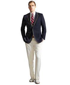 Si Gatsby était venu à Biarritz, il aurait surement porté ce blazer bleu marine ! The Great Gatsby Movie, Great Gatsby Fashion, Great Gatsby Wedding, Gatsby Party, Dream Wedding, Gatsby Look, Gatsby Style, Summer Wedding Men, Brothers Clothing