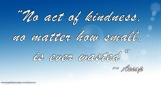 Aesop Kindness quote