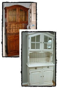 Tanti modi per rinnovare un mobile. « Architettura e design a Roma Architettura e design a Roma Room To Grow, E Design, Furniture Makeover, China Cabinet, Cupboard, Diy And Crafts, Sweet Home, Shabby Chic, Home And Garden