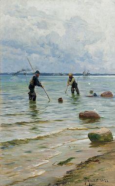 PEDER MORK MONSTED, Danish (1859-1941), The Shell - by Shannon's