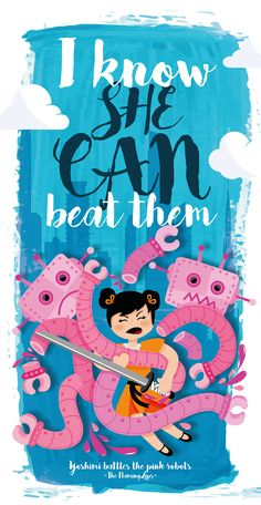 """Check out my @Behance project: """"Yoshimi battles the Pink Robots - The Flaming…"""