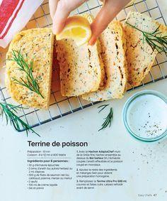 Terrine de saumon Tupperware