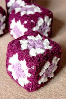 Mum's crochet baby blocks except in green and blue for Jackson.. yes too cute!