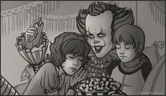 If Pennywise were good and loyal to the Losers Club