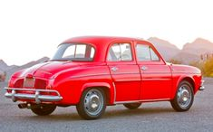 1962 Renault Dauphine Deluxe Maintenance/restoration of old/vintage vehicles: the material for new cogs/casters/gears/pads could be cast polyamide which I (Cast polyamide) can produce. My contact: tatjana.alic14@gmail.com