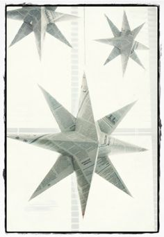 Simple stars for decoration