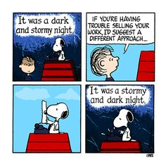 Thursday with Snoopy and Linus.