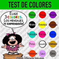 Elige 3 colores, uno cada vez sin detenerte a pensar, no debes cambiar el orden una vez elegido porque no te servirá hacer trampa! Ahor...