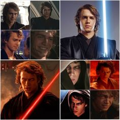 Anakin Skywalker - Revenge of the Sith.  OMG I wish the big bottom left pic was actually from the movie!!  That's awesome!!