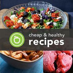 400+ Healthy Recipes (That Wont Break the Bank)The kicker? Each recipe requires eight or fewer ingredients and takes less than 20 minutes to prep. Breakfast, lunch, dinner, soups and salads, snacks and sides, and (of course) healthy desserts — they're all here.