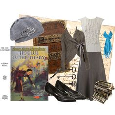 Nancy Drew: The Clue in the Diary costume inspiration! Nancy Drew Costume, Nancy Drew Party, As Nancy, Nancy Drew Books, Modest Outfits, Modest Fashion, Cute Outfits, Nancy Drew Mysteries, Vintage Fashion