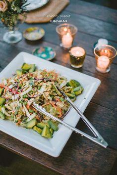 Crunchy Peanut Thai Salad from @NiliStevens Inspired Living  Read more - http://www.stylemepretty.com/living/2013/10/16/crunchy-peanut-thai-salad-from-nili-stevens-inspired-living/