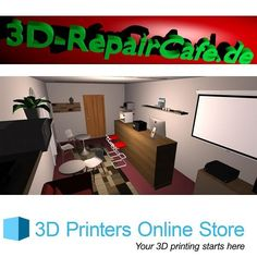 Something we liked from Instagram! 3D Printing Repair Café at Berlin is more about accessibility  The 3D Printing Repair Café had it inauguration on 27th April 2016 will be providing all student and other 3D printer users a space where they can tinker with the 3D printing technology like proving them with a spare bicycle part a model of their desires design that they are making or it eva in might just be a custom gift. The entire cafe space is equipped with Ultimaker brand 3D printers and…
