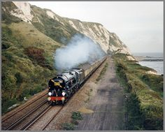 35028 Clan Line, Folkestone Warren