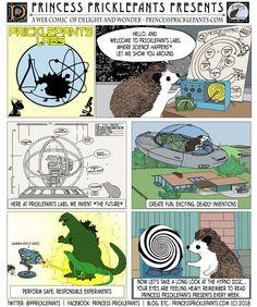 Princess Pricklepants Presents Issue Pricklepants Labs Hedgehogs, Labs, Inventions, Presents, Take That, Princess, Comics, Fun, Fin Fun