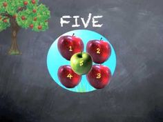 Children's Educational Counting Video: Apple Count 1 to 10