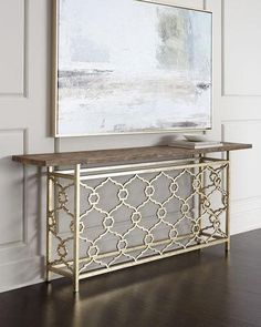 H80WB Hooker Furniture Amedeo Console