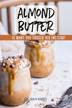 Baking Tips: 3 Things To Substitute Almond Butter And Its Benefits Health Benefits Of Almonds, Almond Benefits, Cold Desserts, Easy Desserts, Butter Substitute, Quick Dessert Recipes, Daily Vitamins, Food For A Crowd, Summer Treats