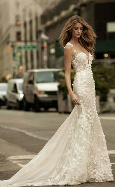 Featured Dress: Berta; Wedding dress idea.