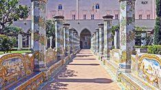 Napoli - Il Chiostro Maiolicato di Santa Chiara (1)