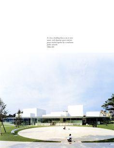 21st century museum in Kanazawa by Sanaa Architects