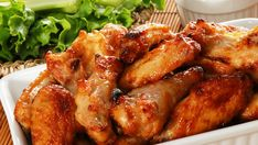 Tasty and spicy chicken wings kids and adults love to eat, especially for snack time. Serve these easy chicken wings recipe with fries and ketchup. Bake Turkey Wings Recipe, Baked Turkey Wings, Chicken Wings Spicy, Ginger Chicken, Chicken Spices, Chicken Wing Recipes, Spicy Wings, Orange Chicken, Garlic Chicken