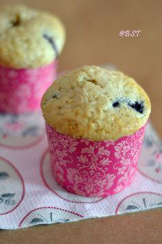 Hummingbird Bakery Blueberry Muffins