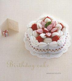Ruko's Original Sweets Made of Felt - Japanese Craft Pattern Book - Hiroko Nanmoku - B288. $23.50, via Etsy.