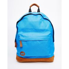 Mi Pac Backpack (€19) ❤ liked on Polyvore featuring bags, backpacks, classic royblu, blue backpack, blue bag, rucksack bag, knapsack bags and backpacks bags