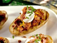 Father's Day Barbeque Potato Skins