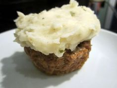 Sophie in the Kitchen: Meatloaf Cupcakes