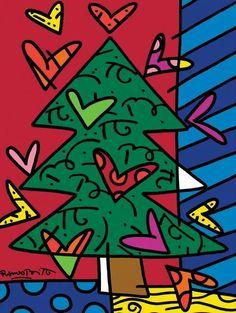 Δραστηριότητες, παιδαγωγικό και εποπτικό υλικό για το Νηπιαγωγείο & το Δημοτικό: Χριστουγεννιάτικα templates με αφορμή έργα του Roberto Britto Christmas Art For Kids, Christmas Art Projects, Christmas Tree Crafts, Christmas Cards, Xmas, Square One Art, Arte Country, Bright Art, Ecole Art