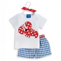 This @Mud Pie outfit, from the Boathouse Baby collection, is available at @onecoast