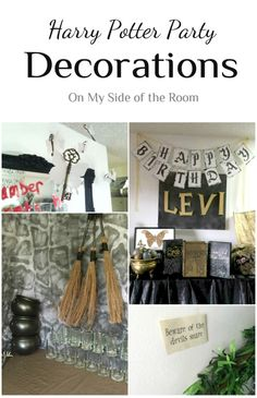 Harry Potter Party Decorations Ideas