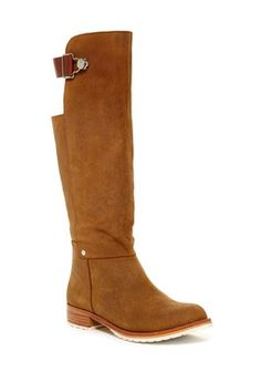 Buckler Leather Tall Boot