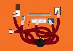 ING Direct Illustrations by The Project Twins, via Behance