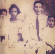 Vintage AMBW Chinese Jamaican and their children Photo from http://blackwomenasianmen.tumblr.com/