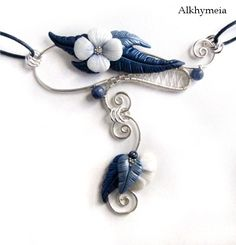 Growth - wire work and polymer clay - Alkhymeia, polymer clay and wire work creations