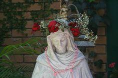 Cloister of the Heart : MONDAYS WITH MARY Virgin Mary, Mondays, Kitsch, Victorian, Statue, Heart, Garden, Garten, Lawn And Garden