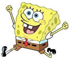 Spongebob is happy!! Hooray!!