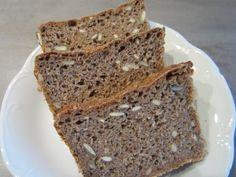 Chia-Roggen-Brot, vegan, Sauerteig, laktosefrei, sojafrei, Clean Eating