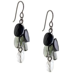 Film Noir Earrings | Fusion Beads Inspiration Gallery