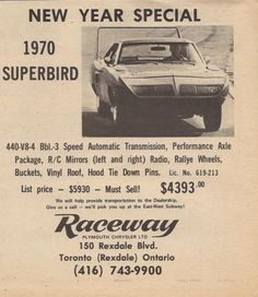Local dealership, still selling Mopar. Rat Rods, Plymouth Superbird, Plymouth Valiant, Car Advertising, Us Cars, Old Ads, American Muscle Cars, Vintage Ads, Cars