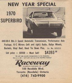 Local dealership, still selling Mopar. Triumph Motorcycles, Rat Rods, Mopar, Classic Trucks, Classic Cars, Ducati, Motocross, Plymouth Superbird, Plymouth Valiant