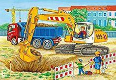 Ravensburger Kinderpuzzle 07616 Baustelle und Bauernhof: Amazon.de: Spielzeug Ravensburger Puzzle, Disney Cars, Puzzles Für Kinder, Wooden Toys, Illustrations, Crafts, Products, Dibujo, Baby & Toddler