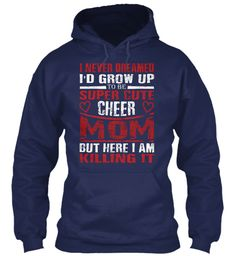 Mothers Day T Shirts ! Navy Sweatshirt Front