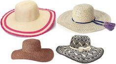 Accessories Access: Affordable & Fashionable Floppy Hats (Dedicated to Christine)!