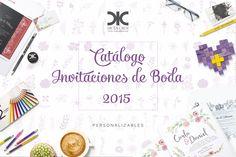Invitaciones de Boda 2015 De La Cruz Estudio Cover/Portada