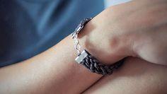 #handmade #leather #bracelet #thesilverlance #etsy